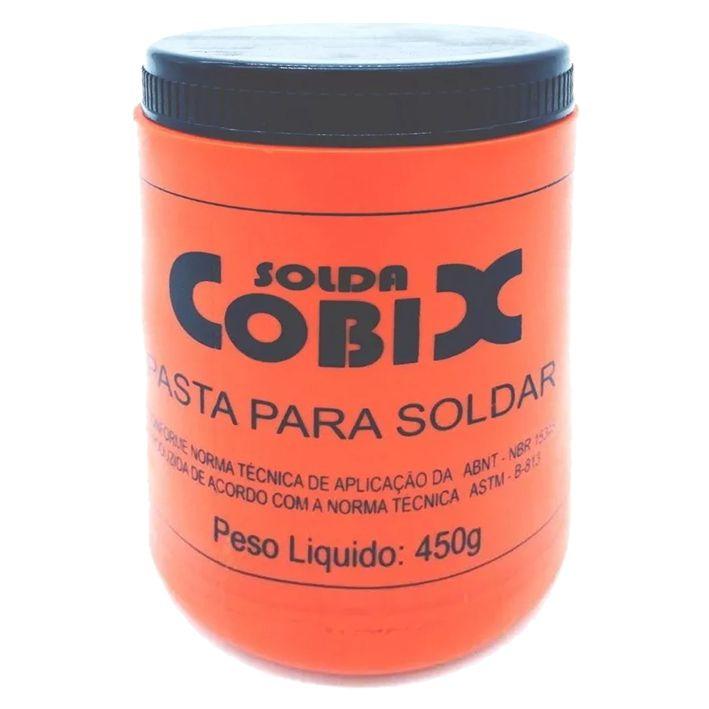 Pasta De Solda Cobix 450g Fluxo Mistura Pastosa Decapagem  - EMPORIO K