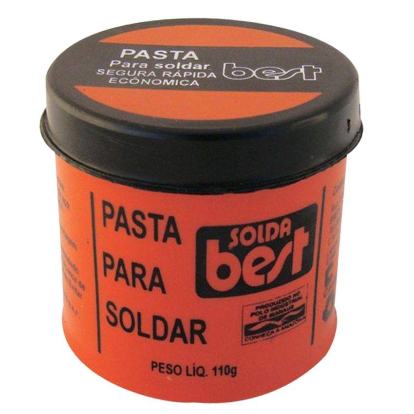 Pasta para Soldar Best Pote 110g Plastico Solda  - EMPORIO K