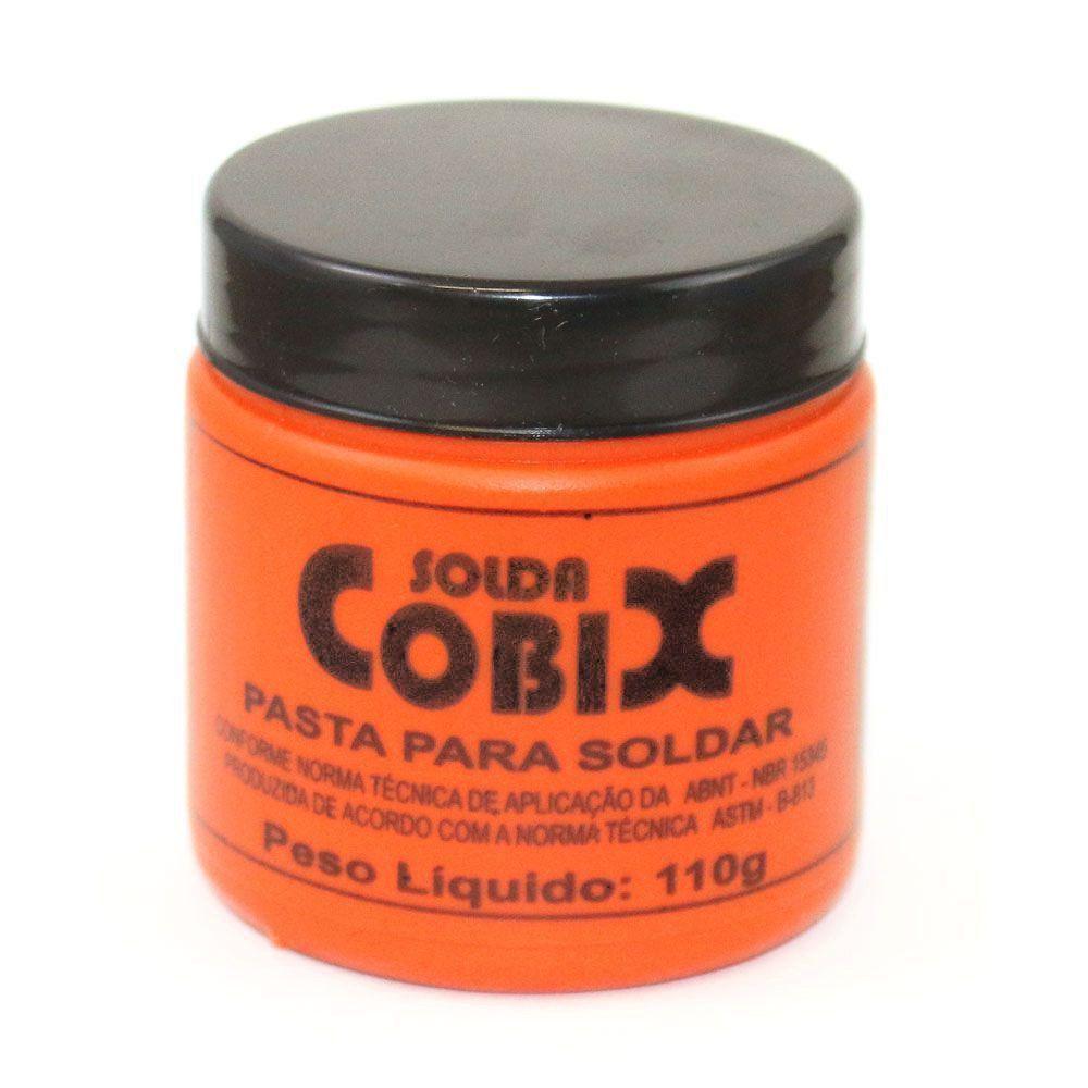 Pasta para Soldar Cobix Pote 110g Plastico Solda  - EMPORIO K