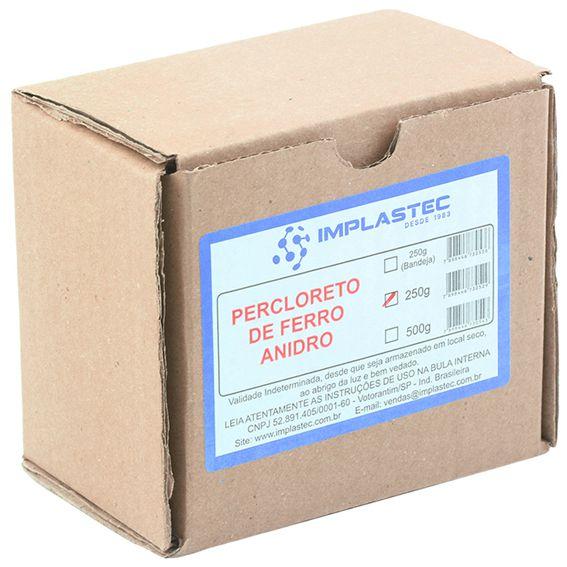 Percloreto De Ferro Anidro 250g Cloreto Férrico Implastec  - EMPORIO K
