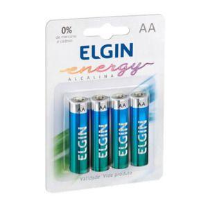 Pilha Alcalina AA Energy Lr6 1,5v 82153 Elgin  - EMPORIO K