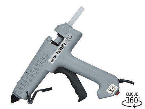 Pistola de Cola Quente HPC-150 150W Bivolt Hikari + 4 Bastões Cola  - EMPORIO K