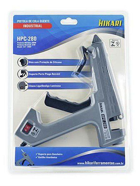 Pistola de Cola Quente HPC-280 280W Bivolt Hikari  - EMPORIO K