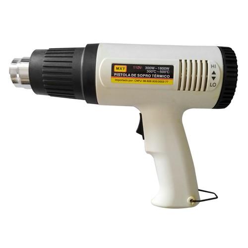 Pistola Soprador Termico Mxt 300a 1800w Ajuste Temperatura  - EMPORIO K