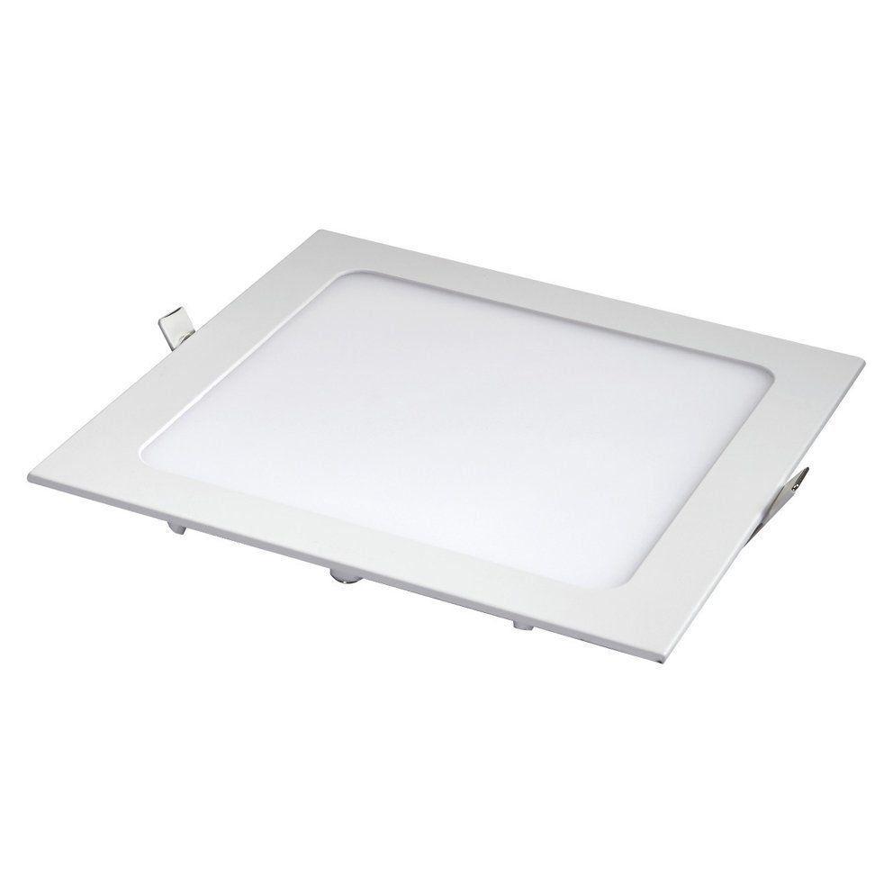 Plafon Led Quadrado 12w Painel Embutir Slim  Avant  - EMPORIO K