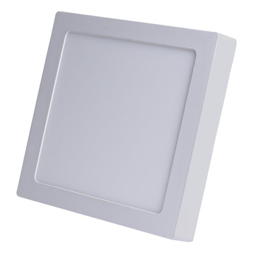 Plafon Led quadrado de sobrepor 24w Avant  - EMPORIO K