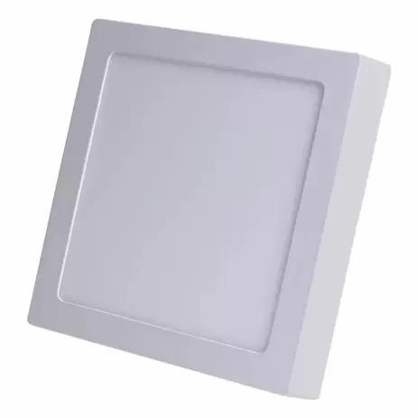 Plafon Led Quadrado Sobrepor 18w Branco Frio Elgin  - EMPORIO K