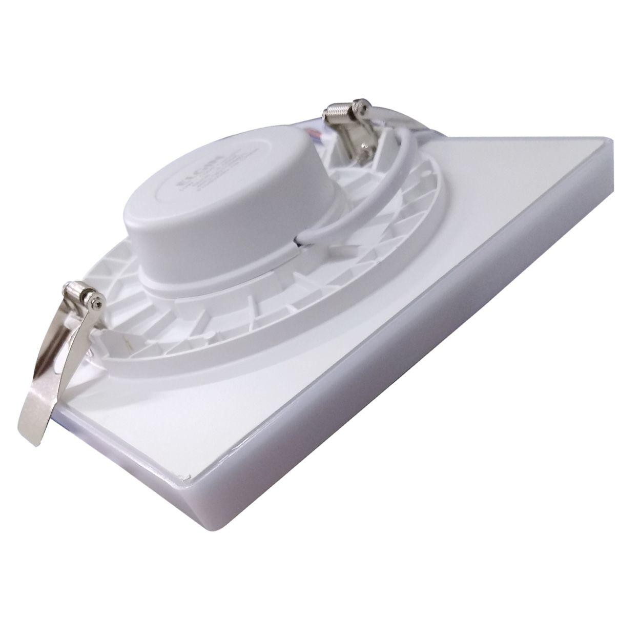 Plafon Luminária Infinity Led Quadrado Embutir 15w Elgin  - EMPORIO K