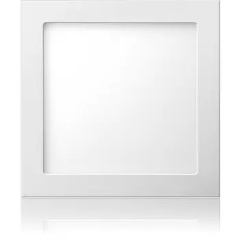 Plafon quadrado embutir 18W branco frio ELGIN  - EMPORIO K