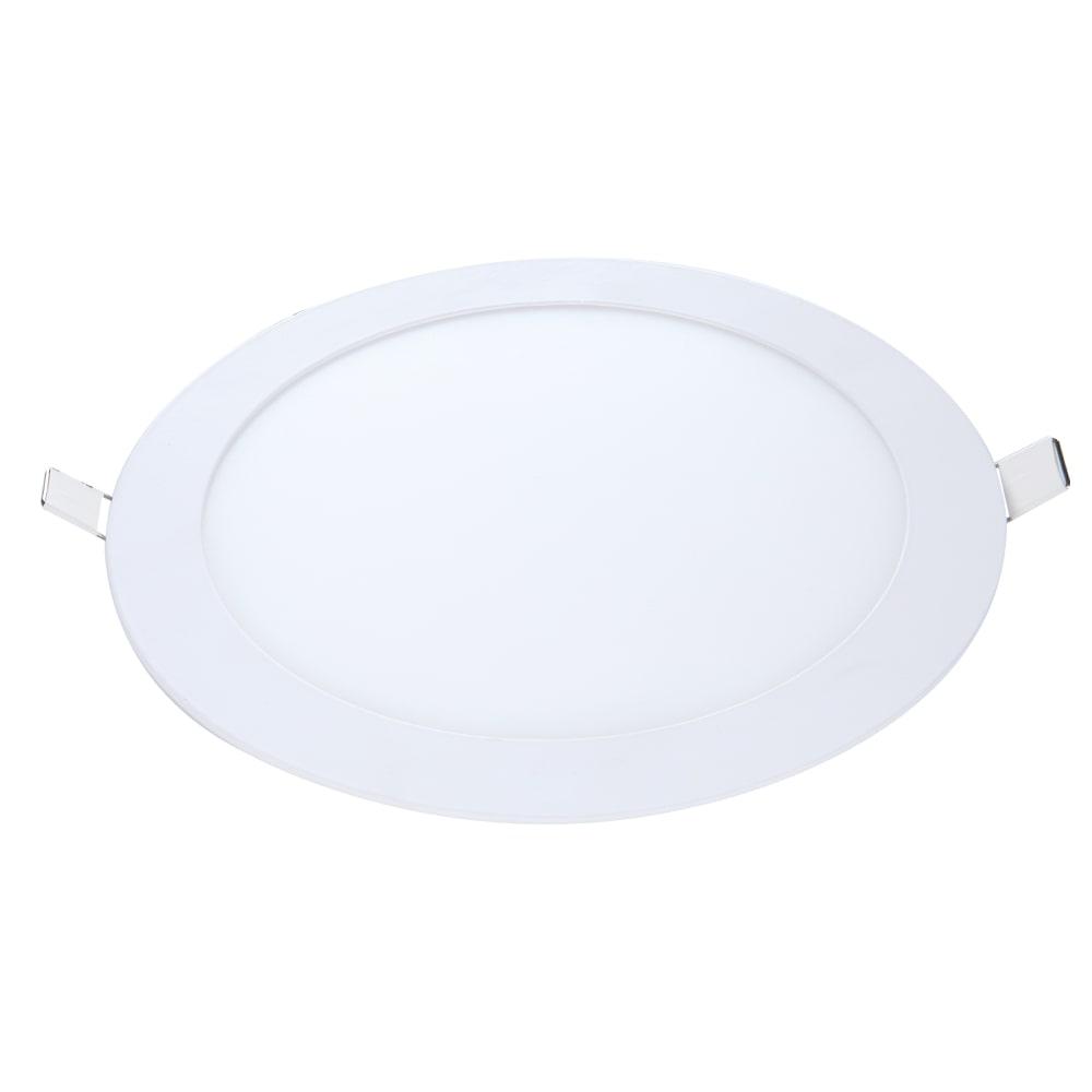 Plafon redondo embutir 18w branco frio AVANT  - EMPORIO K