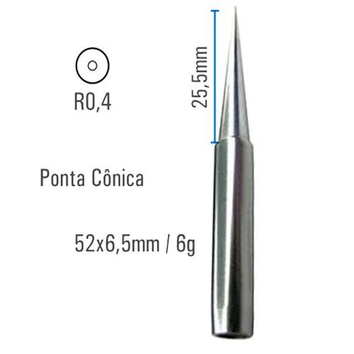 Ponta conica 0,4MM MTLB  - EMPORIO K