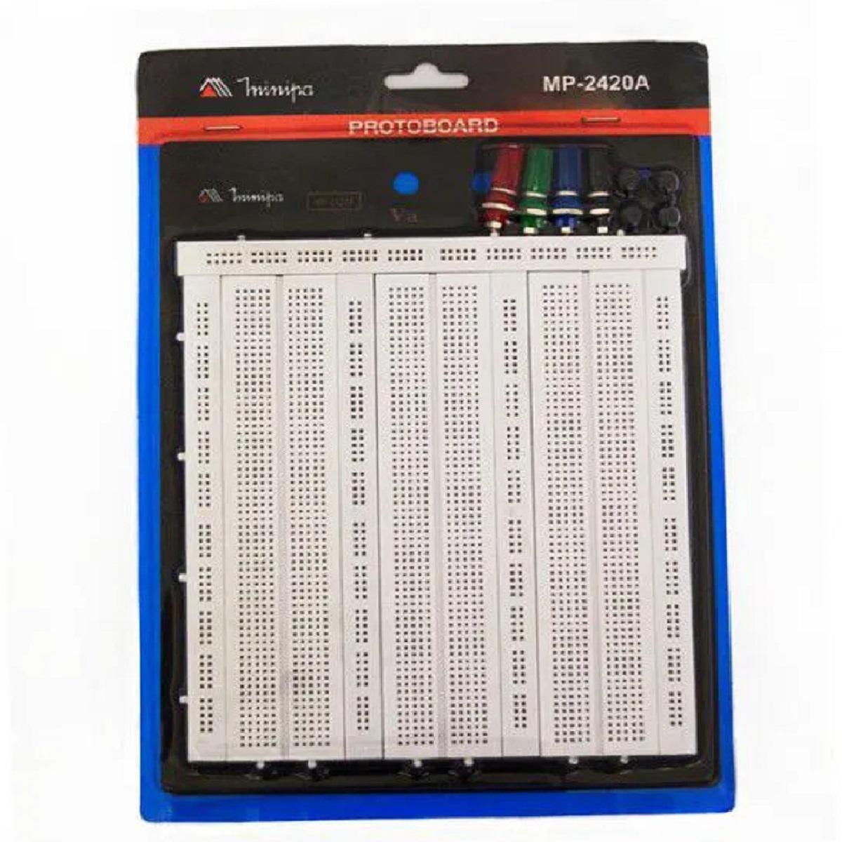 Protoboard MP-2420A Minipa  - EMPORIO K