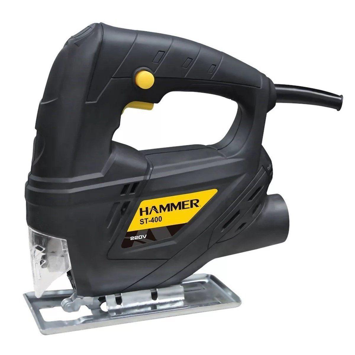 Serra Tico Tico 400w Madeira Alumínio Aço Hammer St400   220-v  - EMPORIO K