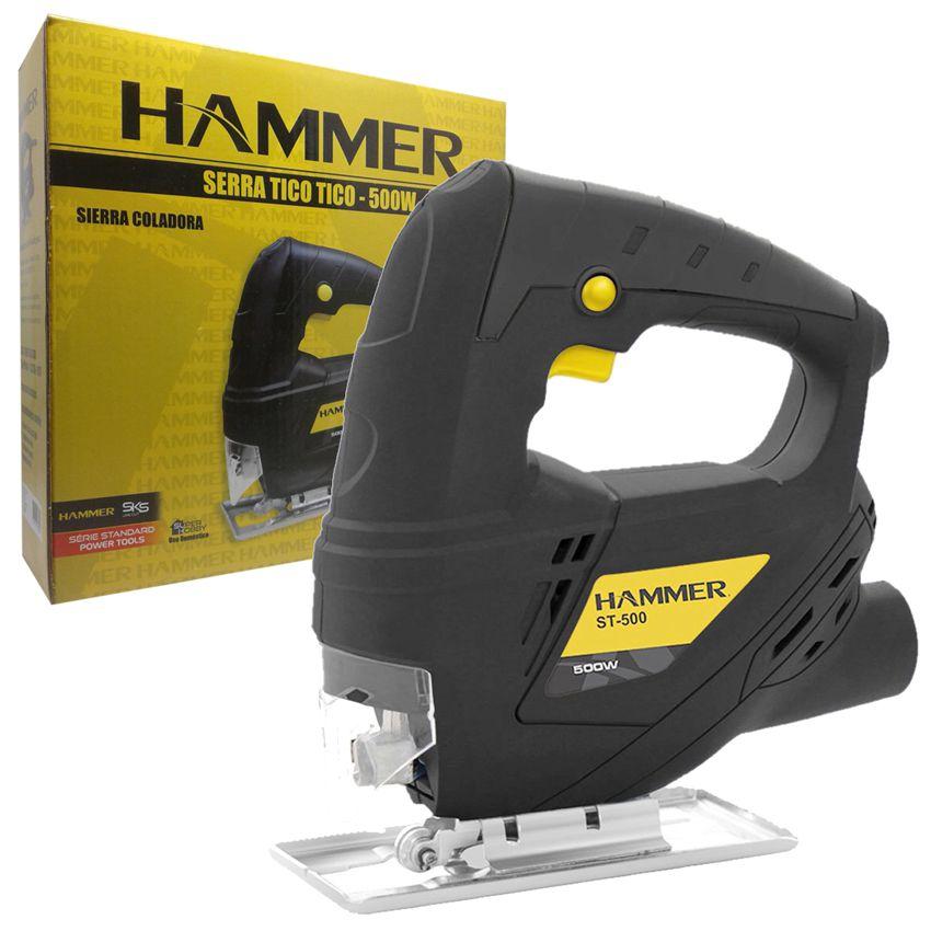 Serra Tico Tico Madeira Alumínio Aço 500w  Hammer St500 -110v  - EMPORIO K