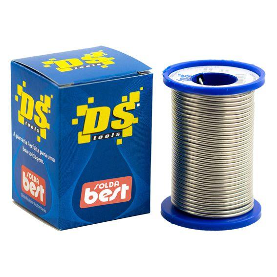 Solda em Fio Ds Tools - 189 MSX10 60x40 1,0mm Azul  - EMPORIO K