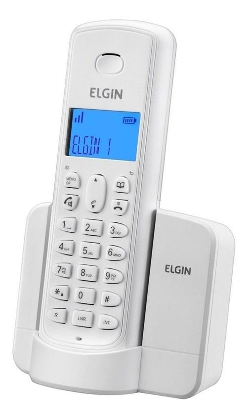 Telefone sem fio Elgin TSF 8001 - Branco  - EMPORIO K