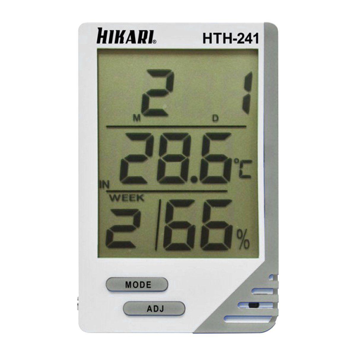 Termo-Higrômetro Digital HTH 241 Hikari  - EMPORIO K