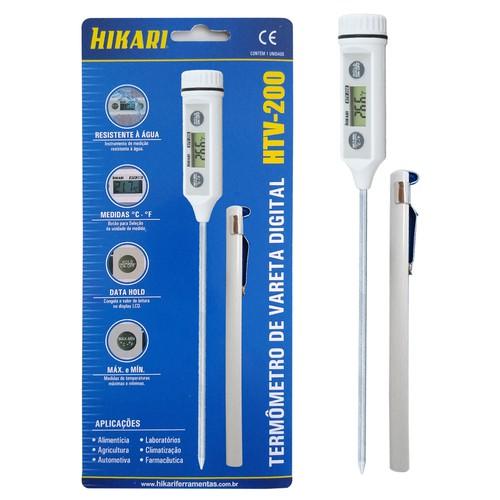 Termometro de vareta digital HTV-200  - EMPORIO K