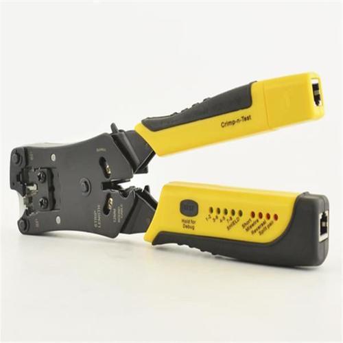Testador de cabo de rede e crimpador HK-305  - EMPORIO K