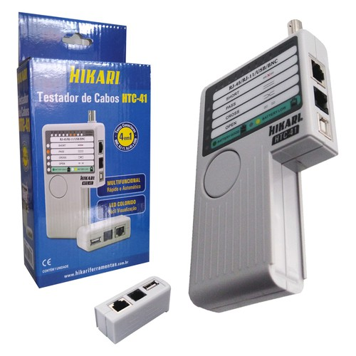 Testador de cabo de rede HTC-41  - EMPORIO K