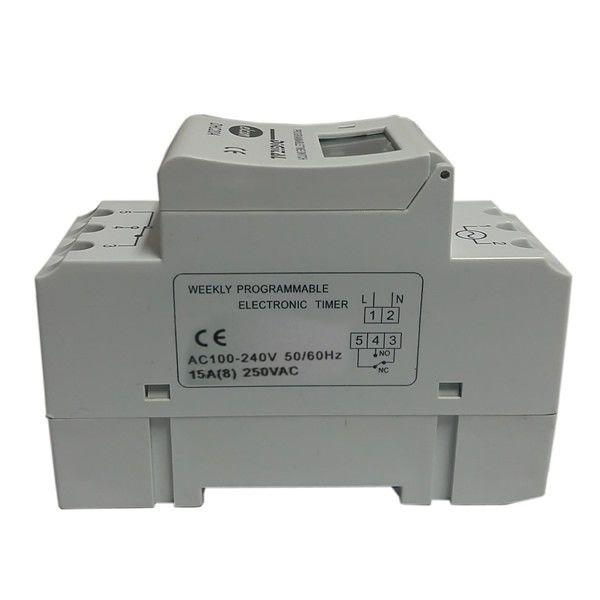Timer Temporizador Industrial Elcon Dhc 16a Trilho Din com 32 Programações  - EMPORIO K