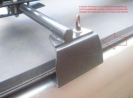 Rack/Travessa para Transbike Canaleta - Altmayer  - Loja Portal
