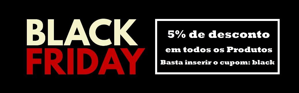 cupom 5% black