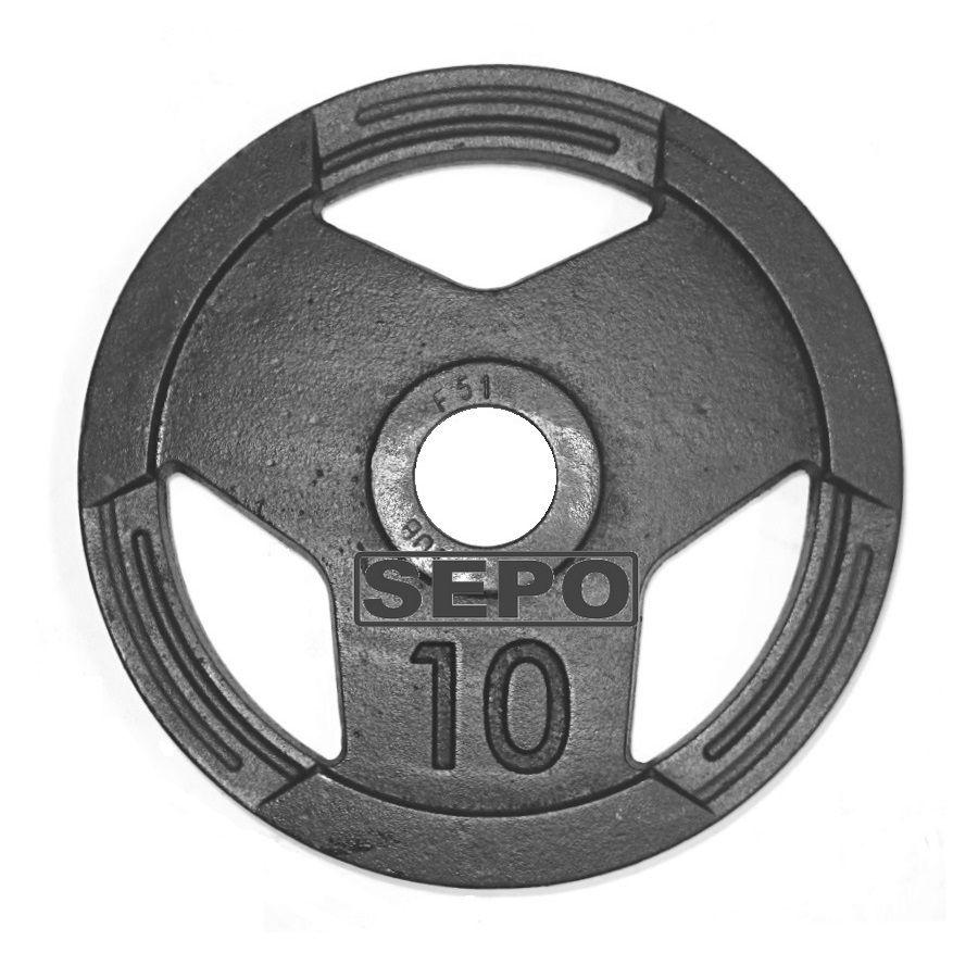 Anilha Sport Luxo com Furação Olímpica - 10 Kg  - Loja Portal