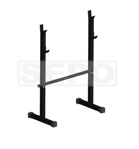 Cavalete Descanso Barras Musculação  - Loja Portal