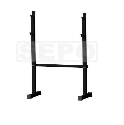 Cavalete Descanso Barras Musculação com Barra - Loja Portal