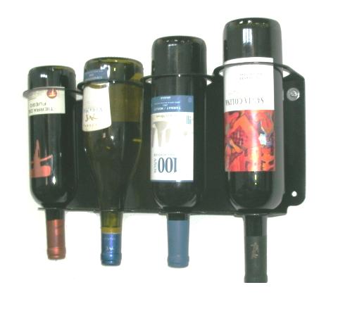 Adega Vinho de parede até 4 Garrafas Vertical - Loja Portal