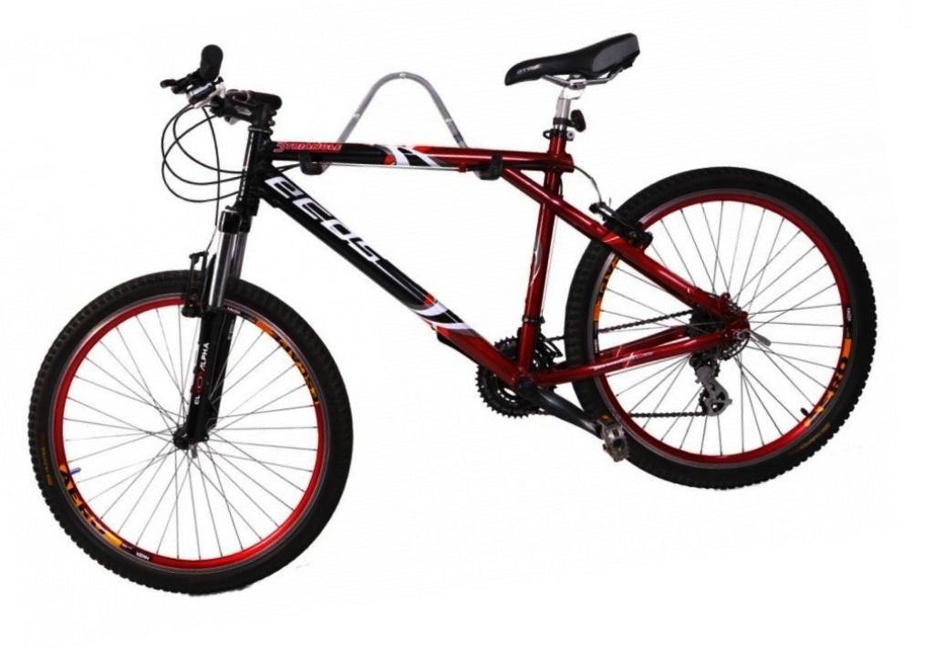 Suporte de Parede Horizontal para 01 Bicicleta - Altmayer - Loja Portal