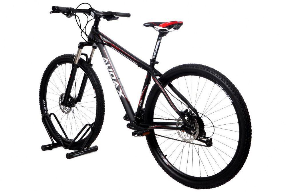 Bicicletário De Chão Tipo ´V´ Preto - Altmayer  - Loja Portal