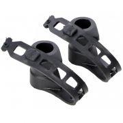 Par de Abraçadeiras em PVC de Reposição para Transbikes/Suportes Altmayer AL-03