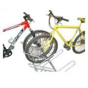 Bicicletário Leve De Chão Com 09 Vagas cor Cinza - Altmayer
