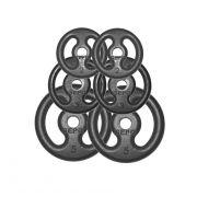 Kit com 6 Anilhas de Ferro Fundido (Pares de 5, 3 e 2Kg)