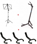 Conjunto Profissional de Acessórios para Instrumentos Musicais