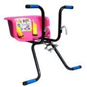 Cadeirinha Infantil para Bicicleta Stilo Básica Rosa