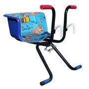 Cadeirinha Infantil para Bicicleta Stilo Luxo Azul