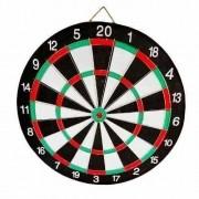 Jogo de Dardos Profissional 40cm com Alvo + 6 Dardos