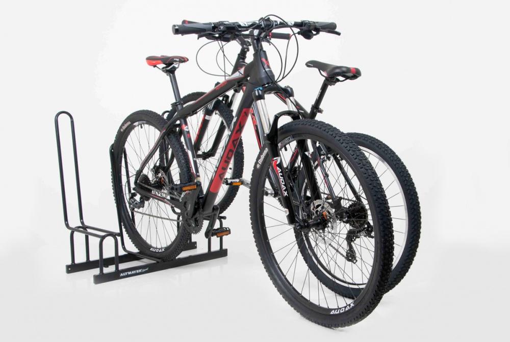 Bicicletário Conjugado Para 3 Bicicletas - Altmayer - Loja Portal