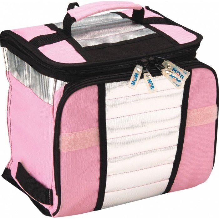 Bolsa Térmica/Cooler 7,5 Litros Rosa - Mor  - Loja Portal