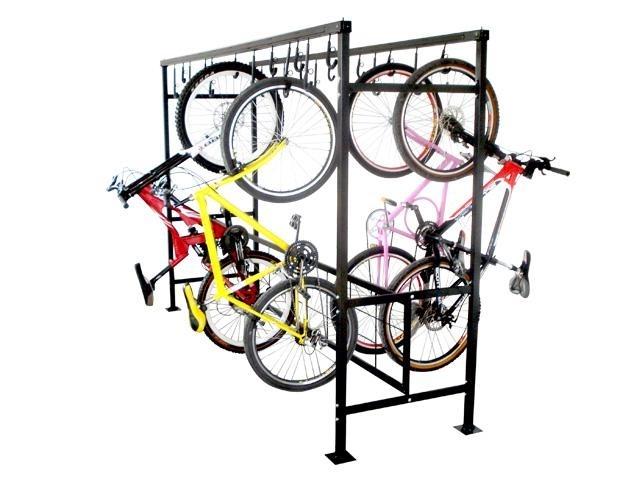 Bicicletário de Correr Duplo com 2m - Altmayer - Loja Portal