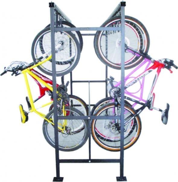 Bicicletário de Correr Duplo com 3m - Altmayer - Loja Portal