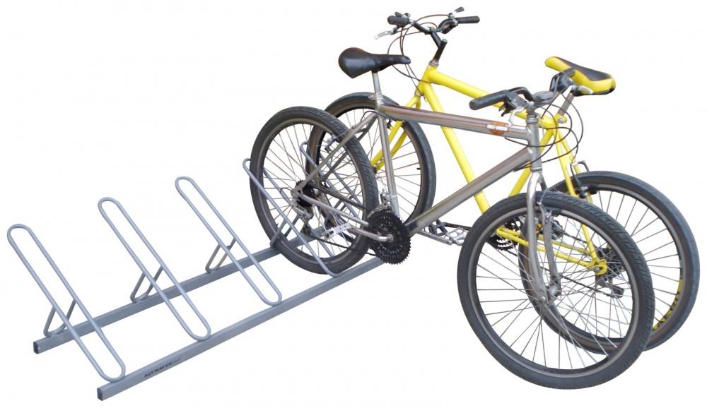 Bicicletario Leve De Chão 5 Vagas - Altmayer - Loja Portal