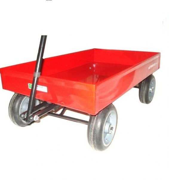 Carrinho De Puxar Infantil Vermelho- Altmayer - Loja Portal