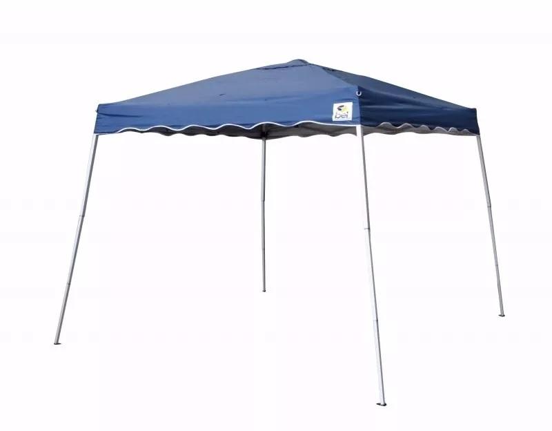 Tenda Gazebo Dobrável Base 2,4mX2,4m Azul Inclinada - Belfix - Loja Portal