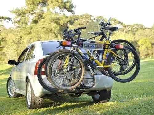 Transbike Fixa Facil Engate 3 Bikes + Sinalizador - Altmayer  - Loja Portal