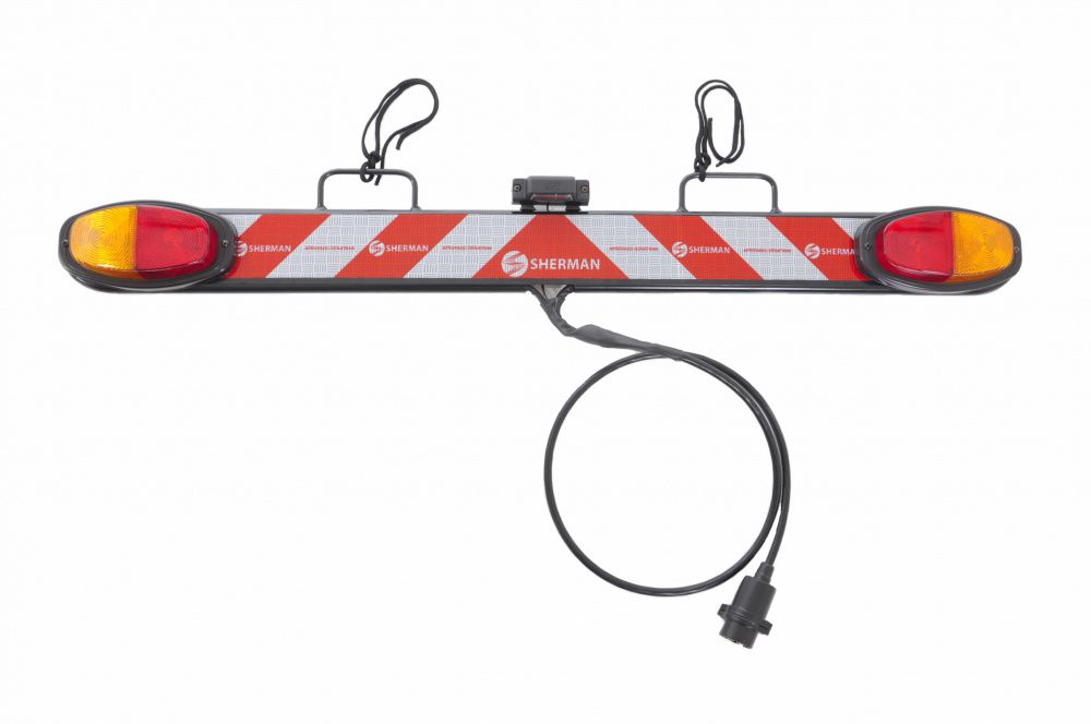 Transbike Suporte V Engate Até 3 Bikes Aro 29 + Sinalizador - Altmayer  - Loja Portal