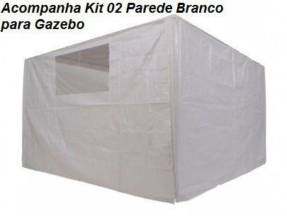 Tenda Gazebo Dobrável Sanfornada Com Jogo Paredes 3x3m Mor  - Loja Portal